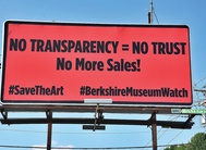 Activists in US protest against unethical art sales by Berkshire Museum