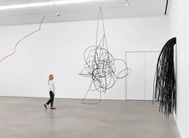 Monika Sosnowska's exhibition Structural Exercises at London's Hauser & Wirth