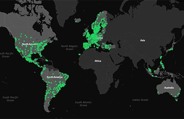 Spotify launches musical map of the world :: Ministry Of ...