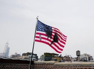 Political art campaign Pledges of Allegiance raises its last flag in US